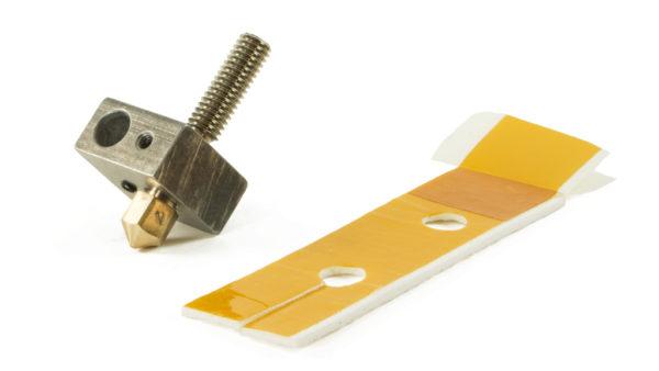makerbot replicator 2 heater block assembly kit