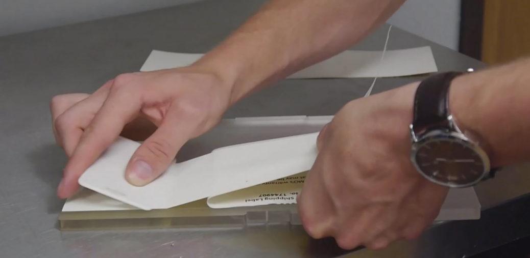 gaffers tape install