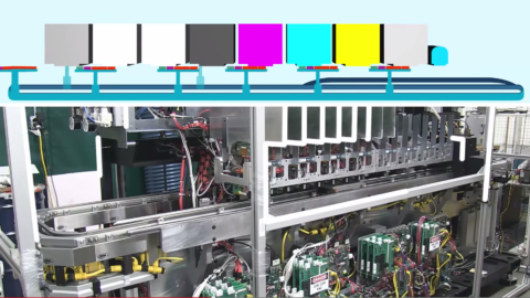 production line overview