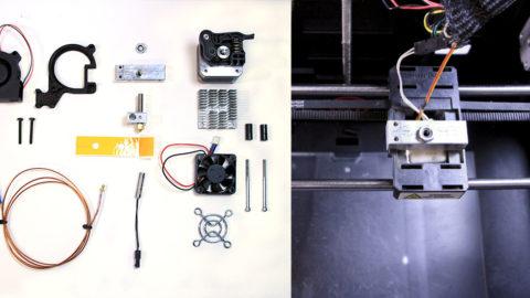 MakerBot extruder parts - 3d printer parts list