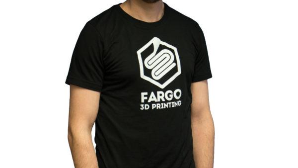 official fargo 3d printing t-shirt front