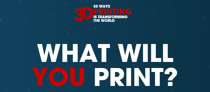 33 ways 3d printing is changing the world