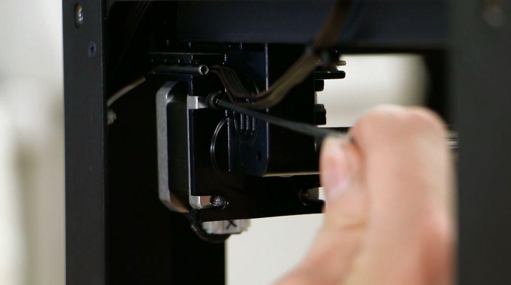 makerbot x axis belt motor