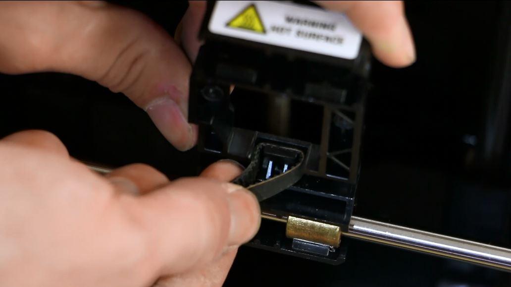 makerbot x axis belt carriage 3d printer