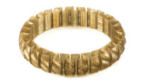 wound up coffee stretchy bracelet - large