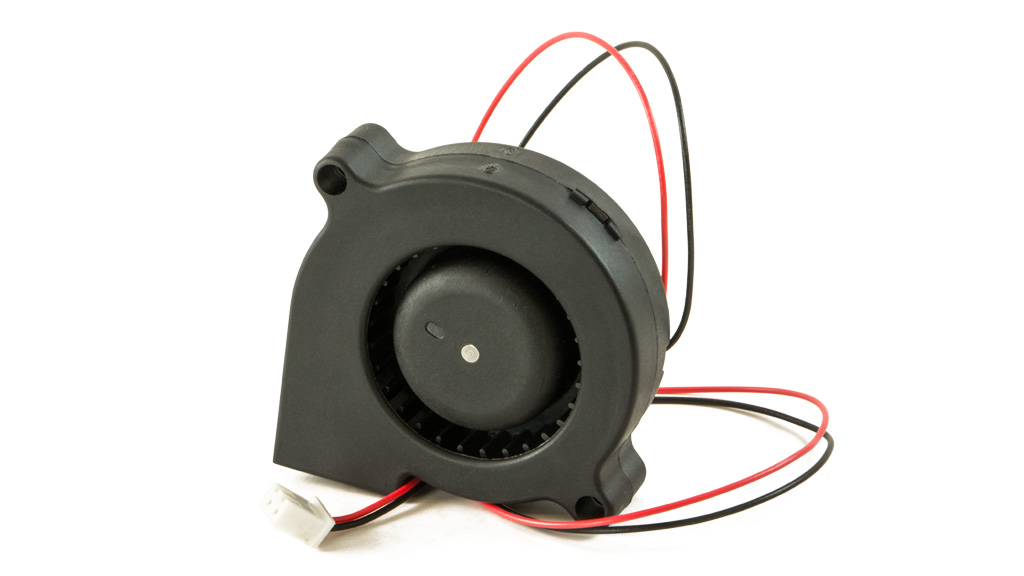 makerbot replicator filament blower fan with quick connect 1