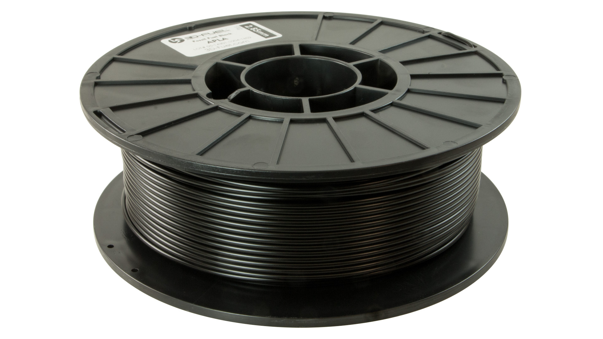 3D-Fuel 2.85mm Fossil Fuel Black APLA spool horizontal