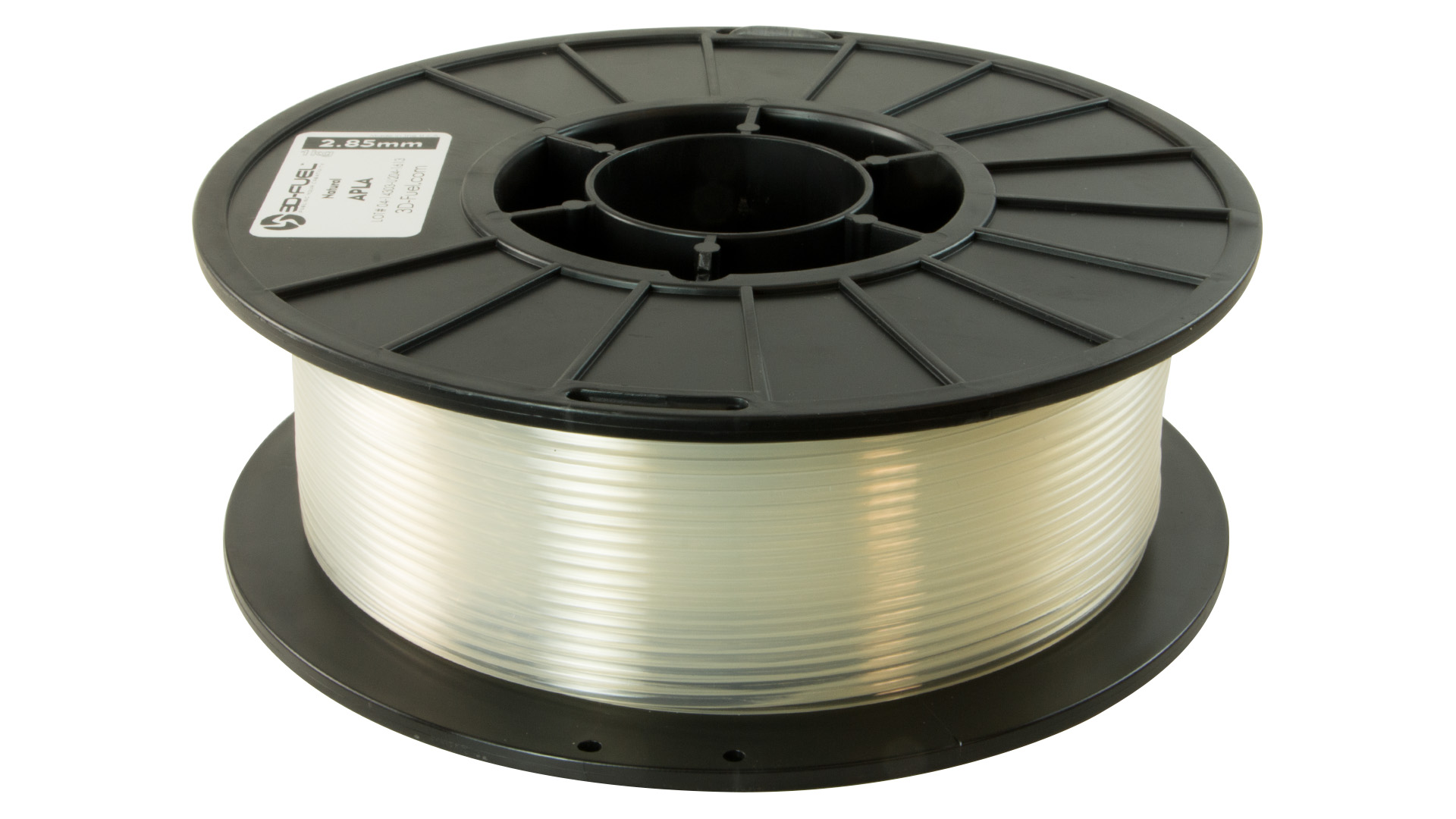 3D-Fuel 2.85mm Natural APLA spool horizontal