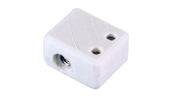 e3d volcano heater block with high temp silicone insulation 2
