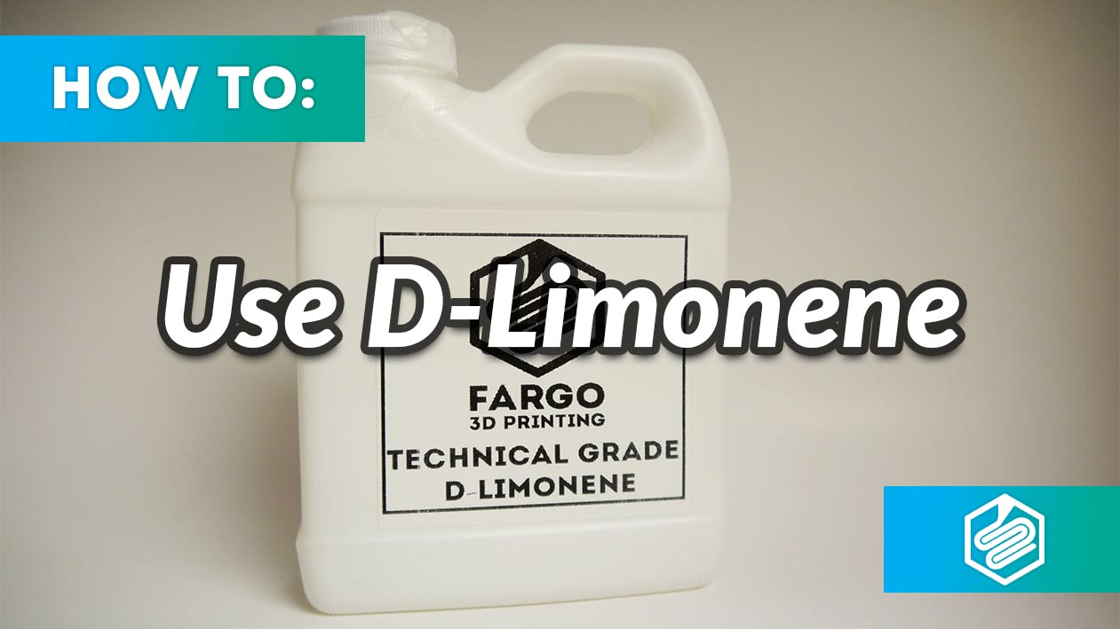 d limonene 3d printing