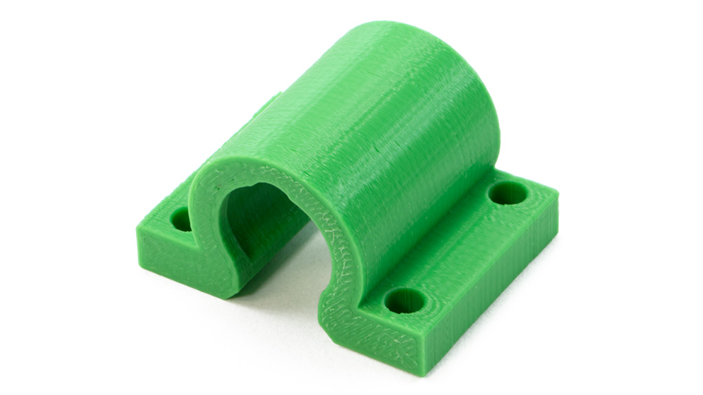 lulzbot 3d printed part